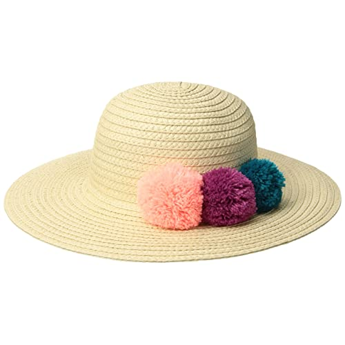 5ee5a07abf9ce Gymboree Girls  Toddler Pom Straw Hat