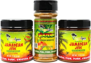 Jamaican Jerk Seasoning Marinade Sauce Spice Authentic Season for Chicken BBQ Wings Pork Shrimp (Jamaican Pack)