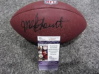 Mel Blount Signed Football - New w COA HOF - JSA Certified - Autographed Footballs