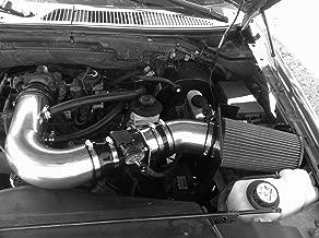 PERFORMANCE HEATSHIELD COLD AIR INTAKE KIT FIT 1997-2003 Ford F-150 Expedition / 1997-1999 F-250 4.6 4.6L 5.4 5.4L V8 ENGINE (BLACK)