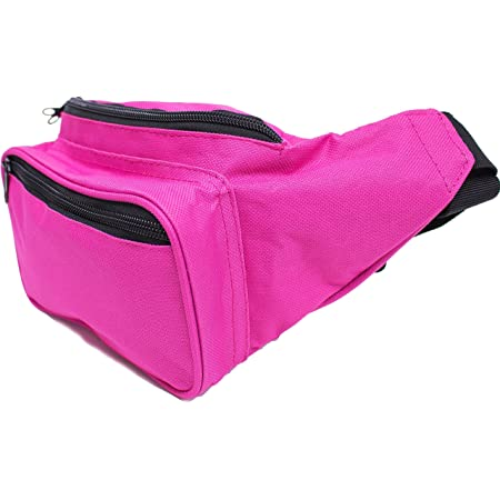 SoJourner Bags Fanny Pack One Size Brown And Pink