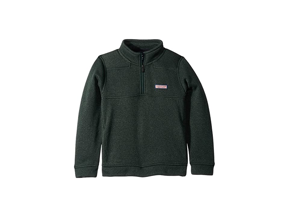Vineyard Vines Kids Sweater Fleece Shep Shirt (Toddler/Little Kids/Big Kids) (Charleston Green) Boy