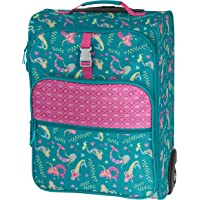 Stephen Joseph All Over Print Rolling Luggage (Mermaid)