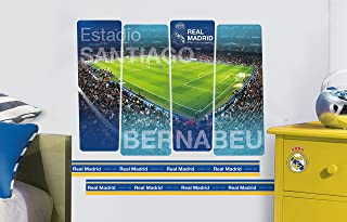 Imagicom wallrm01 Real Madrid Adhesivo Decorativo de Pared, Modelo Stadium, PVC, 0.1 X 49 X 68.5 cm