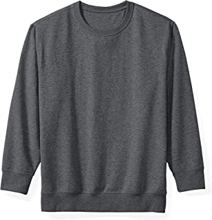 Amazon Essentials Men's Big & Tall Crewneck Fleece Sweatshirt fit by DXL