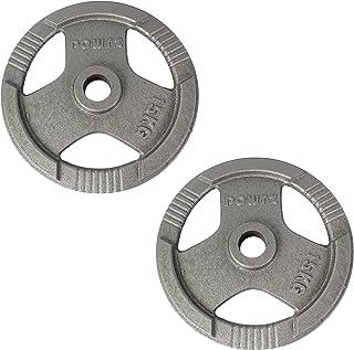 POWRX Olympic viktskivor set av 2 I vikter hantel 2,5-40 kg I viktskivor idealiska för hantel och skivstång med diameter 50mm
