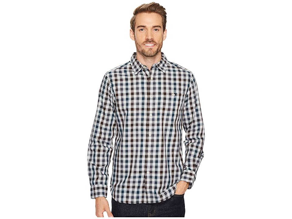 The North Face Long Sleeve Hayden Pass Shirt (High-Rise Grey Plaid) Men