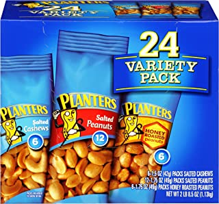 Planters Nuts Variety Pack (1.75 oz, Pack of 24)