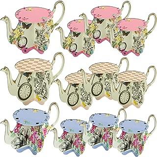 wedding teapot centerpieces