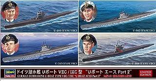 Hasegawa ha300401: 700Escala alemán U-Boot Tipo viic-ixc U-Boat ases Parte 2