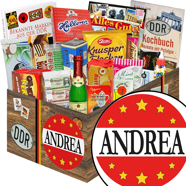 Andrea   Ostpaket für Männer Männer Männer   Andrea Geschenk Namenstag B07DQPK1VC | Hohe Qualität und günstig  d6f08a