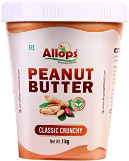 Allops Classic Crunchy Peanut Butter 100% Veg. (1)