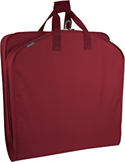 WallyBags 40-Inch Suit Length Garment Bag, Red, United States Carry-On