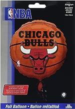 "Anagram International A11373201 Chicago Bulls Balloon Pack, 18"""