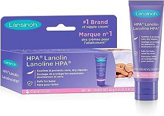 Lansinoh Lanolin Nipple Cream for Breastfeeding, 1.41 Ounces, 40g