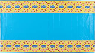 Amscan Cute Peppa Pig Birthday Party Table Cover, Yellow/Blue, 54