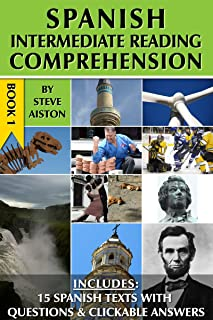 Spanish Intermediate Reading Comprehension - Book 1