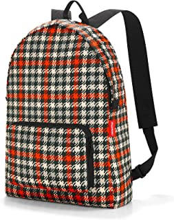 Reisenthel Mini Maxi Rucksack glencheck Red Sac à Dos Loisir 45 Centimeters 14 Multicolore (Glencheck Red)