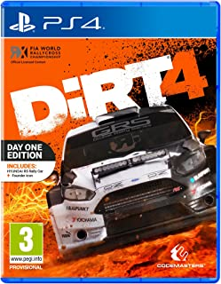 Dirt 4 Day One Edition PS4 Game