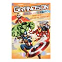 Hallmark Avengers Grandson Birthday Card 'Proud' - Medium