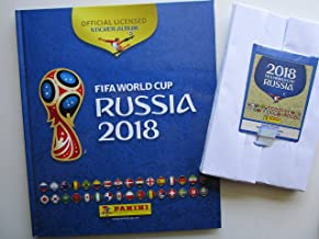 HARD Cover Book + COMPLETE Collection Panini 2018 RUSSIA World cup 682 Stickers FIFA USA edition
