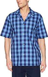Nautica Men's Short Sleeve 100% Cotton Soft Woven Button...