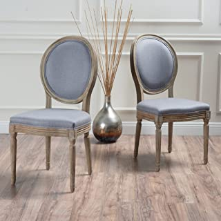 material dining chairs