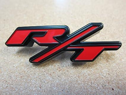 dodge charger rt emblem grille Dodge Charger R/T Front Grille Clip On Emblem Nameplate Mopar OEM