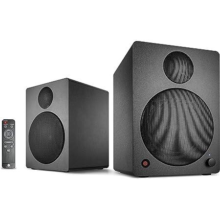 Wavemaster Mx3 Bt 2 1 Lautsprecher System 50 Watt Mit Bluetooth Streaming Aktiv Boxen Für Tv Tablet Smartphone Pc Schwarz 66506 Audio Hifi