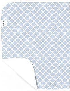 Kushies Baby Deluxe Change Pad, Blue Lattice