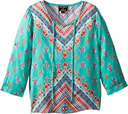 Brooke 3/4 Sleeve Blouse (Toddler/Little Kids)