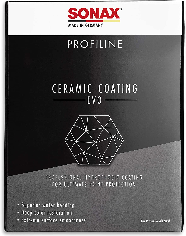 SONAX PROFILINE CeramicCoating CC Evo set completo para sellado cerámico de pinturas | N.° 02379410