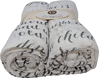 scripture swaddle blanket