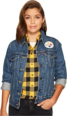 Levi's® Womens Steelers Sport Denim Trucker