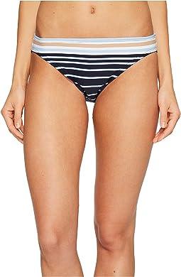 Abby Stripe Classic Bikini Bottom