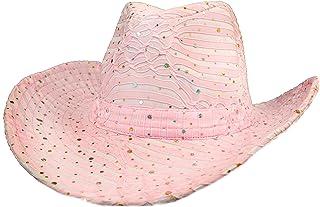 0837c3b8160 Amazon.com  Pinks - Cowboy Hats   Hats   Caps  Clothing