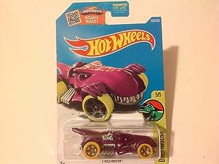 Hot Wheels 2016 Dino Riders T-Rextroyer 250/250, Purple (Treasure Hunt)