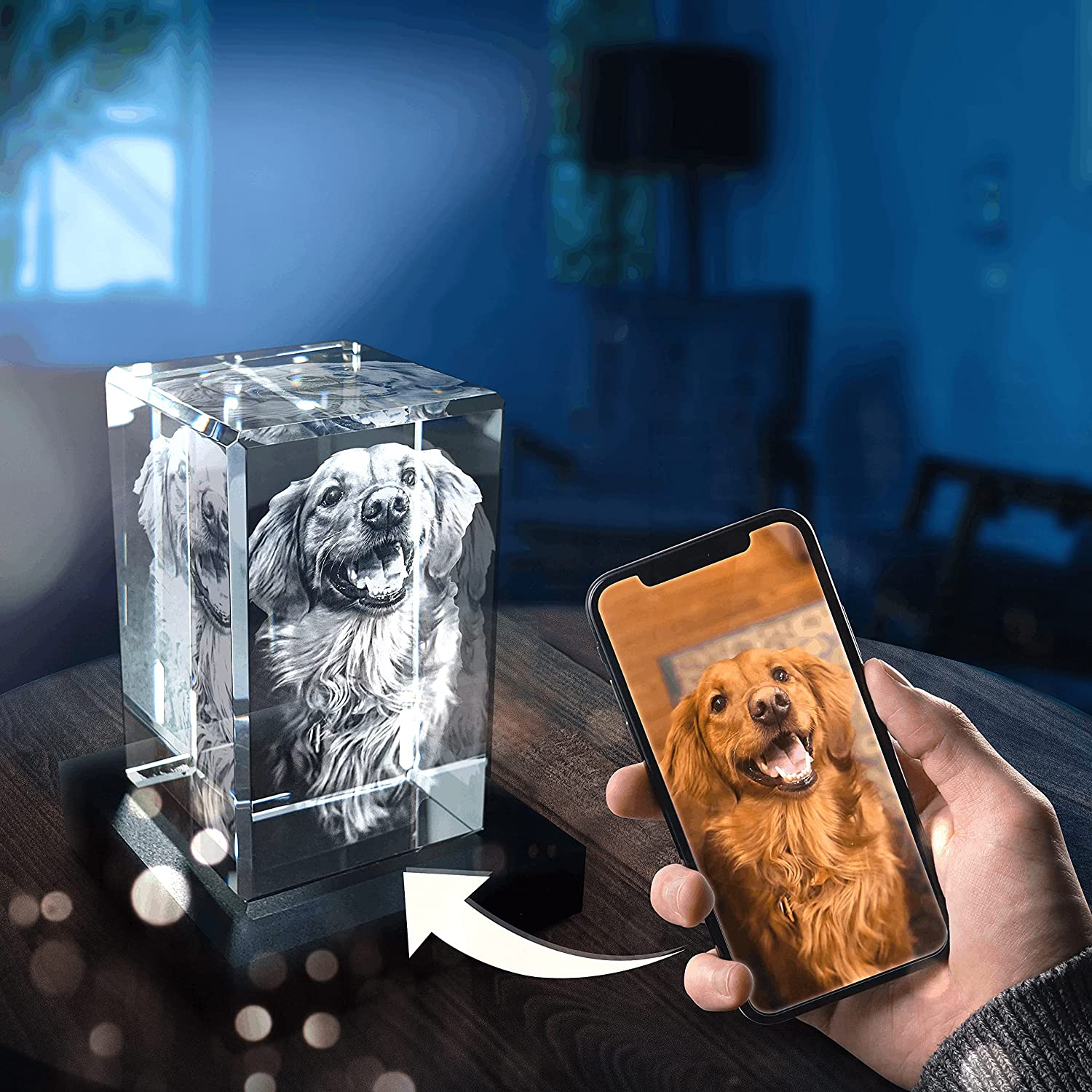 Pix Crystal - Free Shipping Don't miss the campaign Cheap Bargain Gift 3D Photo LED Base Personalized with