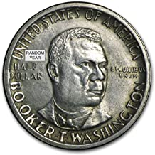 booker t washington half dollar