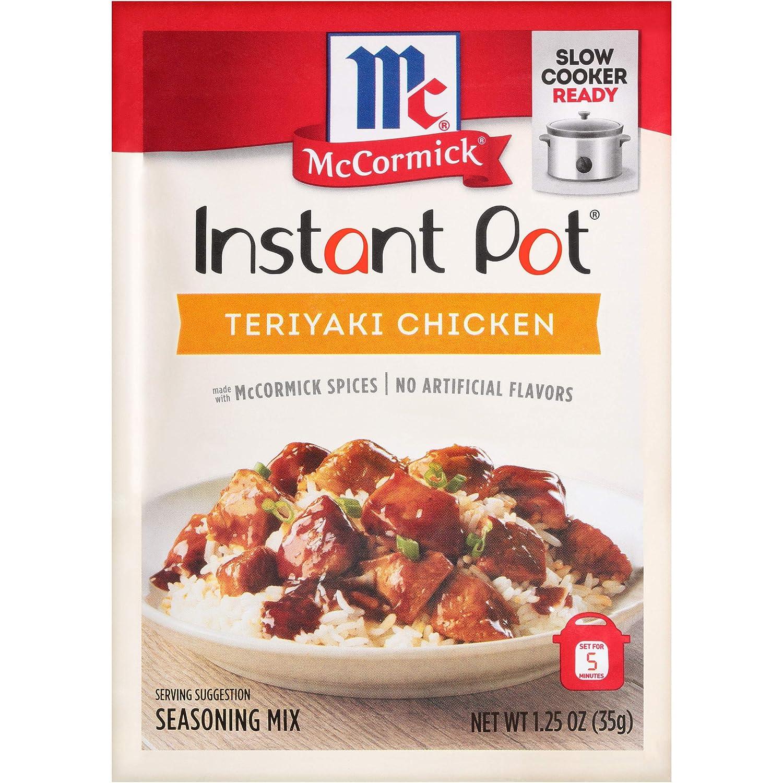 Dallas Mall McCormick Instant Pot Teriyaki Chicken Sales for sale Mix oz Seasoning P 1.25