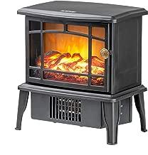 mini electric stove fire