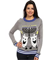 tipsy elves - Hanukkah Ugly Christmas Sweater