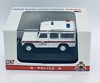Oxford Diecast Hong Kong Police Car Land Rover Defender LWB Station Wagon (Hong Kong Limited Edition)
