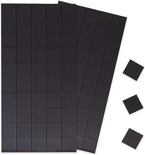 Cuadrados magnéticos: 100 pzas con imanes autoadhesivos con
