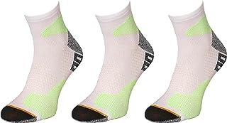 Comodo, Calcetines antideslizantes, antideslizantes y funcionales para zapatillas de deporte para maratón, senderos, trotar y correr, RUN1 [3 pares]