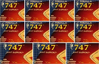 LOT of 11 FORMULA 747 JOINT SUPPORT GLUCOSAMINE MSM CHONDROITIN TUMERIC