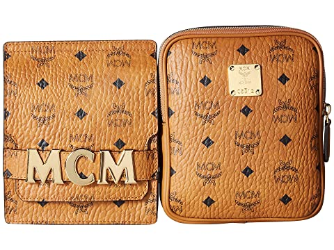 MCM MCM Stark Double Logo Belt Bag