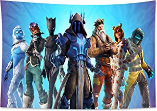 Clint Mathis Hero Team Video Game Tapestry Wall Hanging for Game Themed Party Picnic 59x70 Inch (150x180cm)