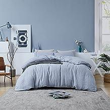 Pure Berklan Linen Duvet Cover King Linen Comforter Linen Bedding 100% French Natural Linen with YKK Zipper Closure Ultra ...