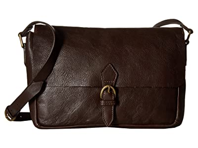 Scully Catalina Messenger Bag (Brown) Messenger Bags
